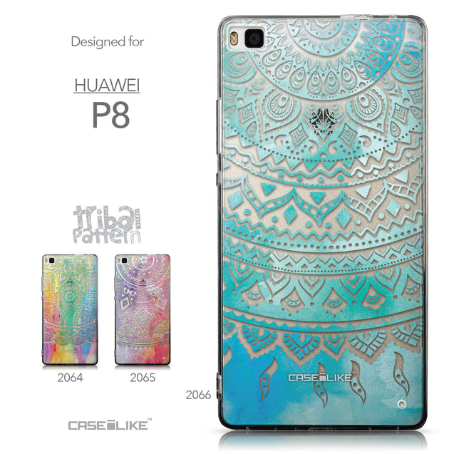 Collection - CASEiLIKE Huawei P8 back cover Indian Line Art 2066