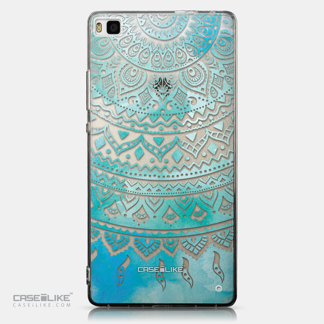 CASEiLIKE Huawei P8 back cover Indian Line Art 2066