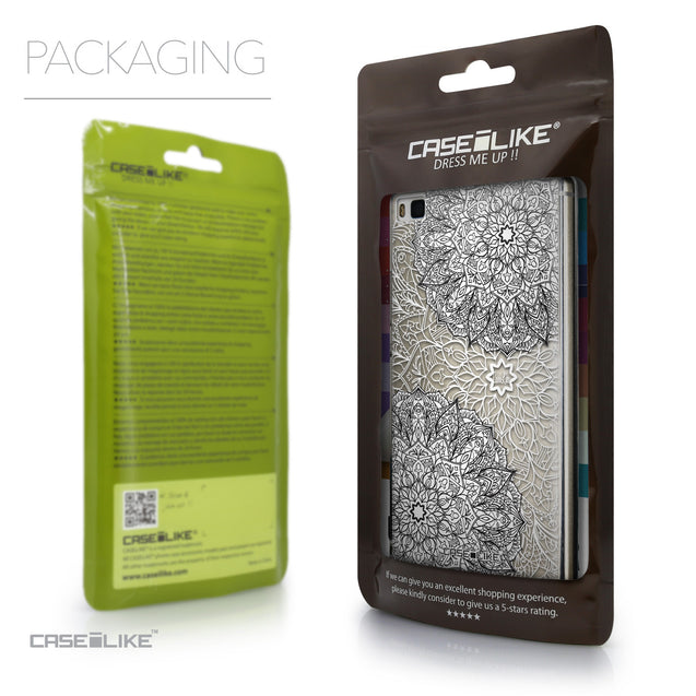 Packaging - CASEiLIKE Huawei P8 back cover Mandala Art 2093