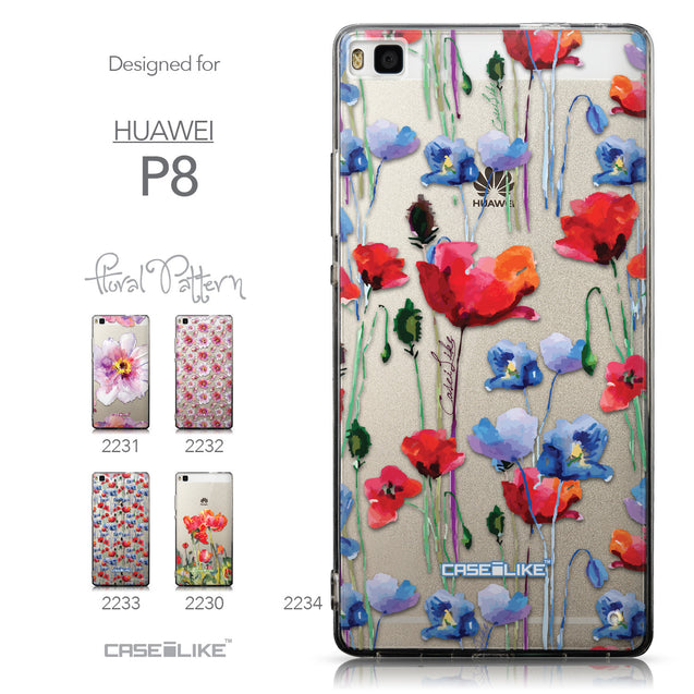 Collection - CASEiLIKE Huawei P8 back cover Indian Line Art 2061