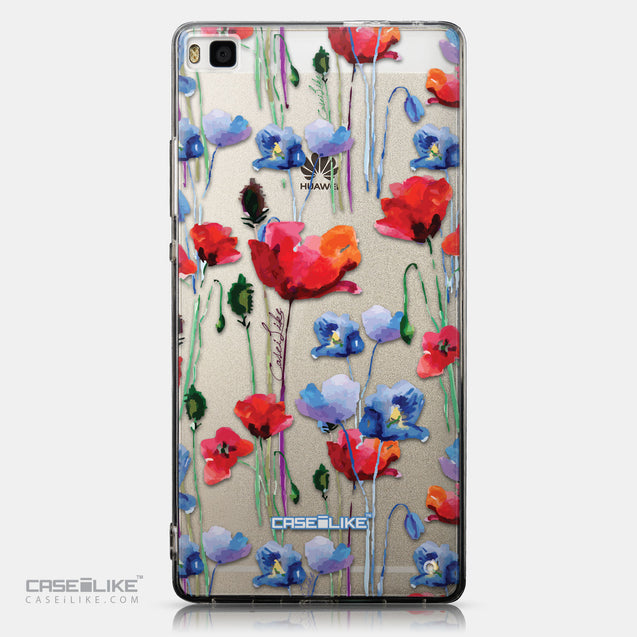 CASEiLIKE Huawei P8 back cover Watercolor Floral 2234