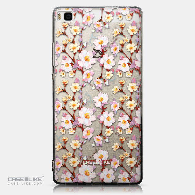 CASEiLIKE Huawei P8 back cover Watercolor Floral 2236