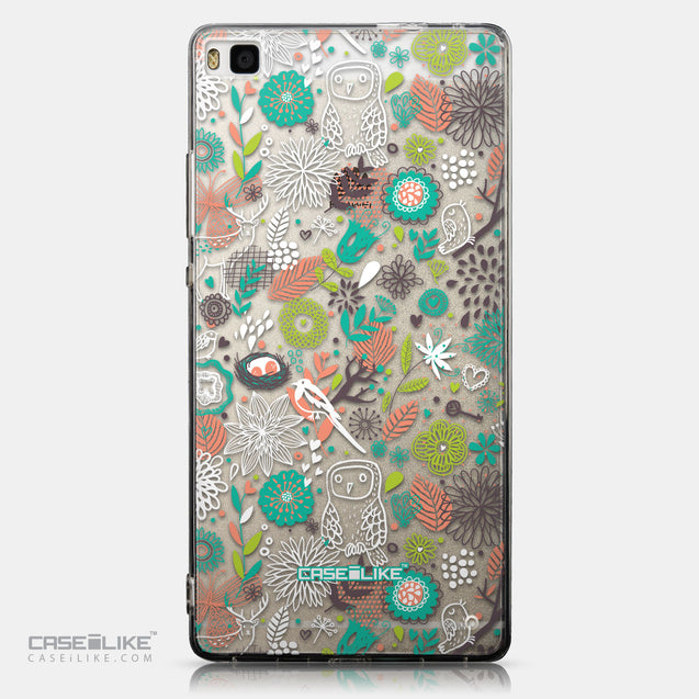 CASEiLIKE Huawei P8 back cover Spring Forest White 2241