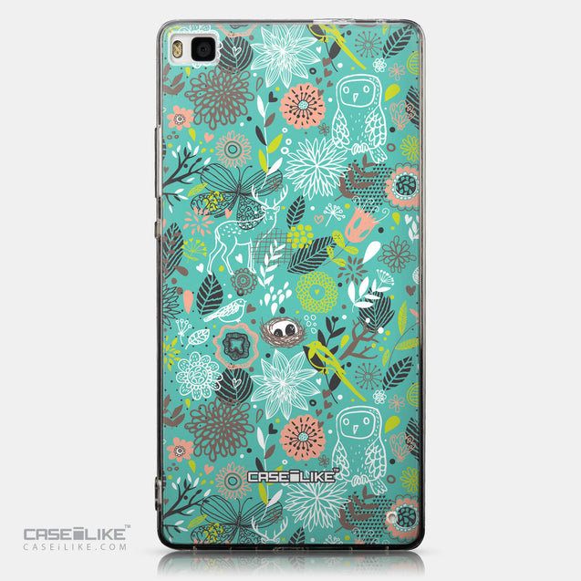 CASEiLIKE Huawei P8 back cover Spring Forest Turquoise 2245