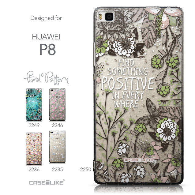 Collection - CASEiLIKE Huawei P8 back cover Blooming Flowers 2250