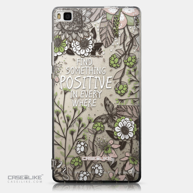 CASEiLIKE Huawei P8 back cover Blooming Flowers 2250