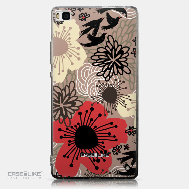CASEiLIKE Huawei P8 back cover Japanese Floral 2254