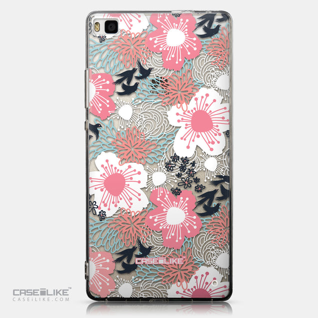 CASEiLIKE Huawei P8 back cover Japanese Floral 2255