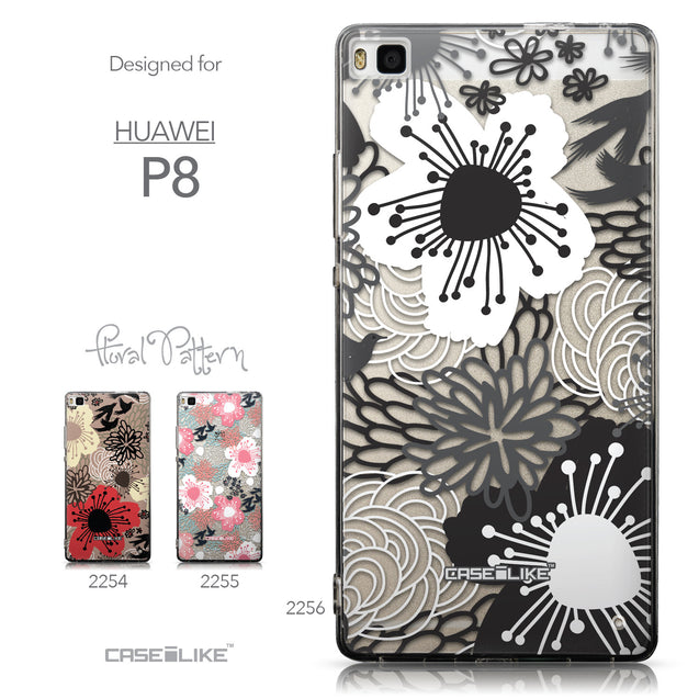 Collection - CASEiLIKE Huawei P8 back cover Japanese Floral 2256