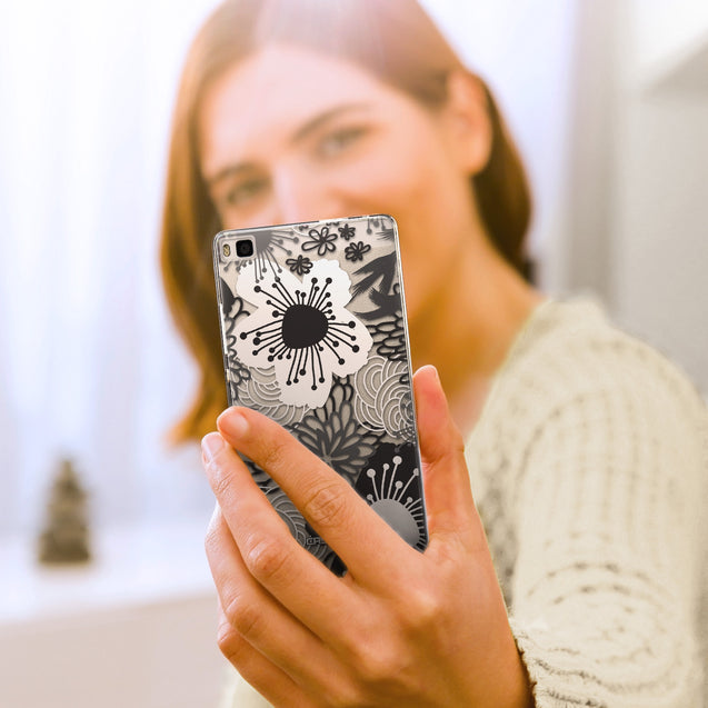 Share - CASEiLIKE Huawei P8 back cover Japanese Floral 2256