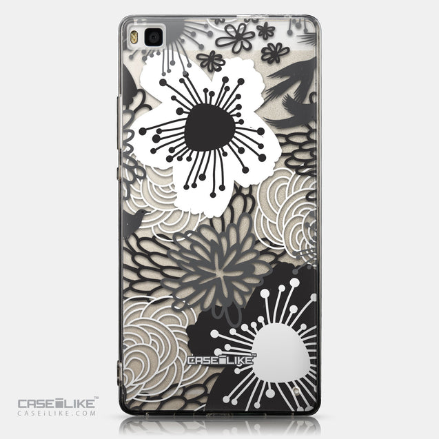 CASEiLIKE Huawei P8 back cover Japanese Floral 2256