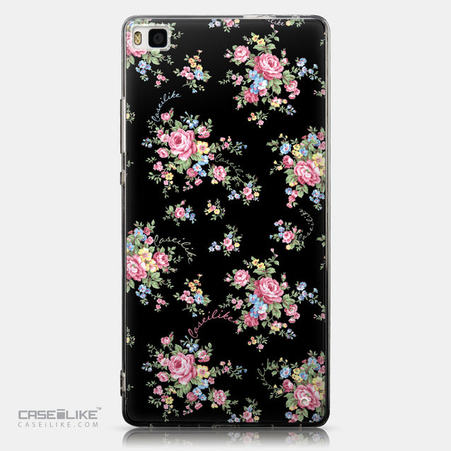 CASEiLIKE Huawei P8 back cover Floral Rose Classic 2261