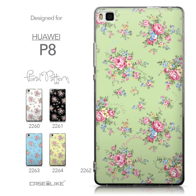 Collection - CASEiLIKE Huawei P8 back cover Floral Rose Classic 2262