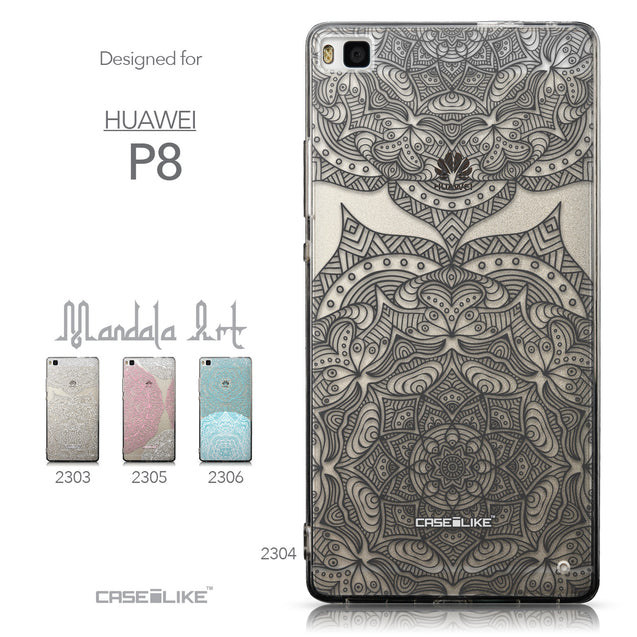 Collection - CASEiLIKE Huawei P8 back cover Mandala Art 2304