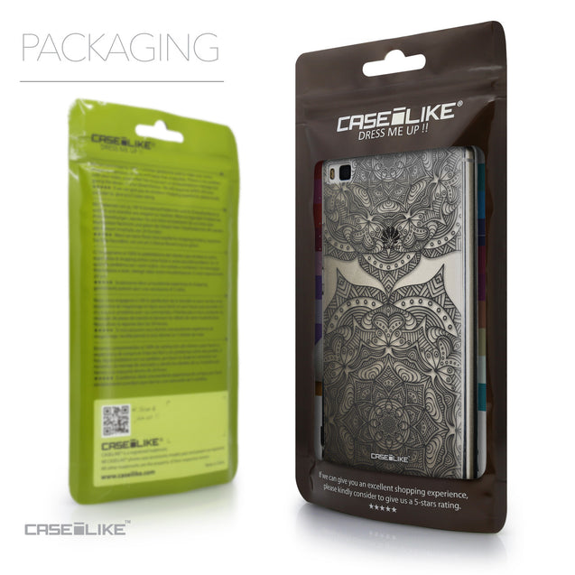 Packaging - CASEiLIKE Huawei P8 back cover Mandala Art 2304