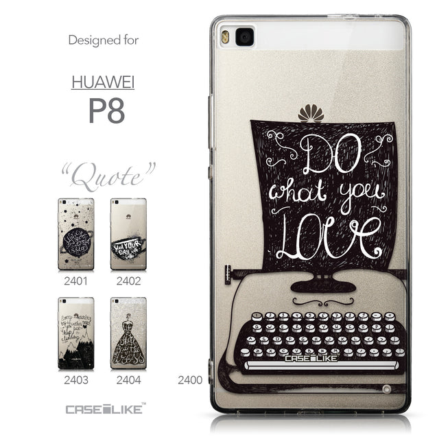 Collection - CASEiLIKE Huawei P8 back cover Quote 2400