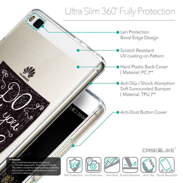 Details in English - CASEiLIKE Huawei P8 back cover Quote 2400