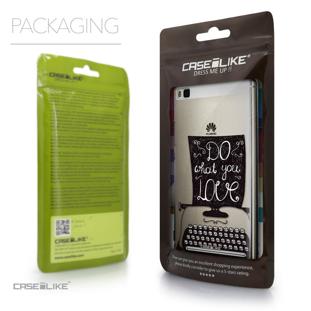 Packaging - CASEiLIKE Huawei P8 back cover Quote 2400