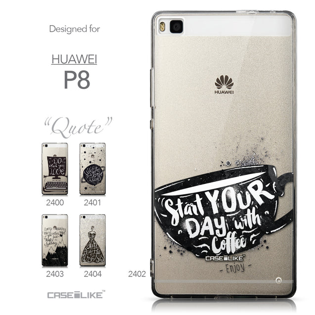 Collection - CASEiLIKE Huawei P8 back cover Quote 2402