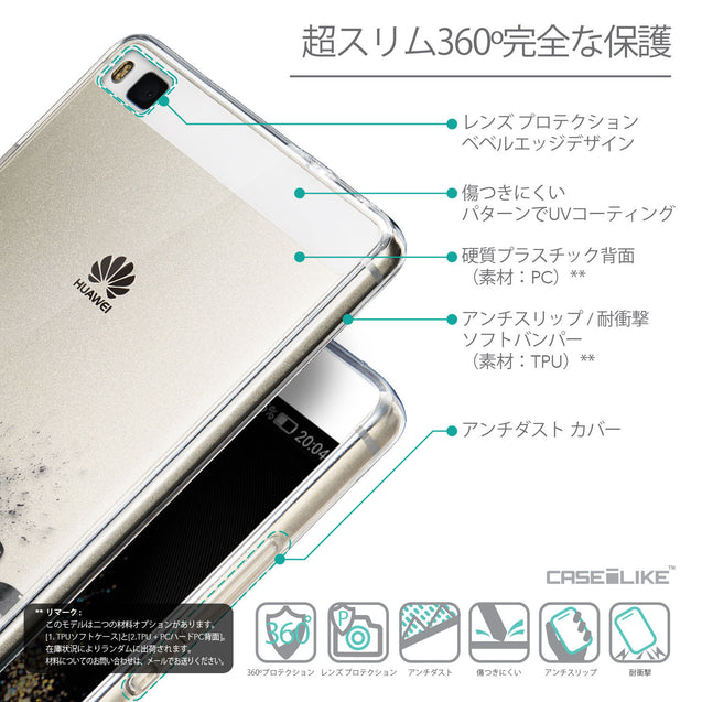 Details in Japanese - CASEiLIKE Huawei P8 back cover Quote 2402