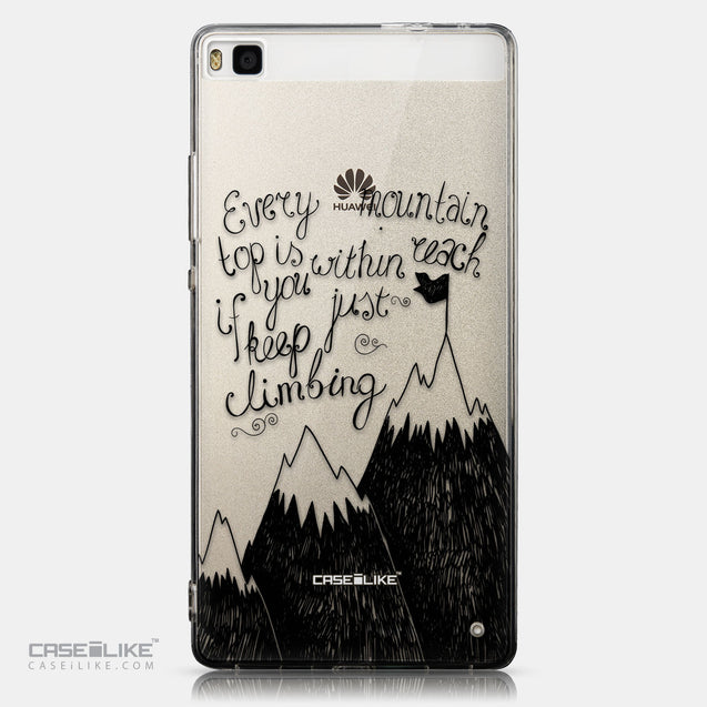 CASEiLIKE Huawei P8 back cover Quote 2403