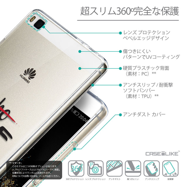 Details in Japanese - CASEiLIKE Huawei P8 back cover Quote 2405