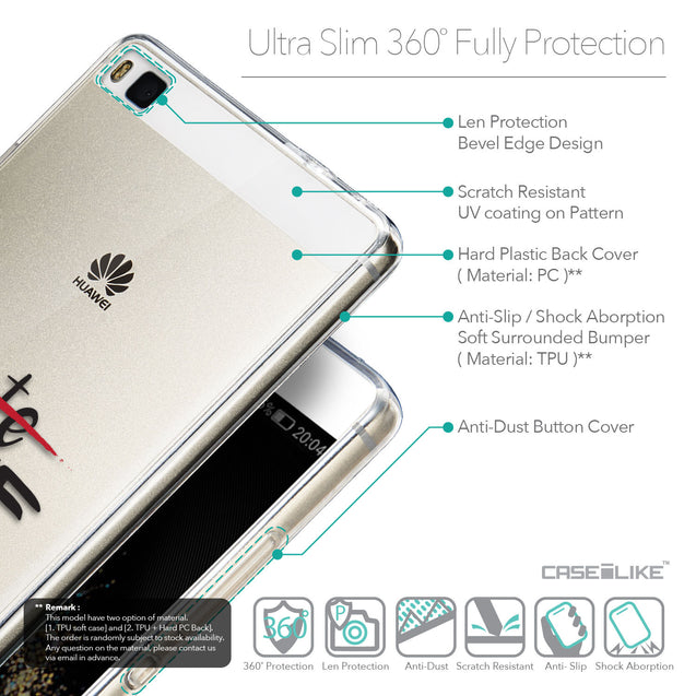 Details in English - CASEiLIKE Huawei P8 back cover Quote 2406