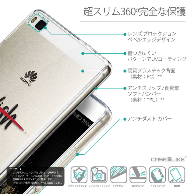 Details in Japanese - CASEiLIKE Huawei P8 back cover Quote 2407
