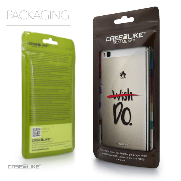Packaging - CASEiLIKE Huawei P8 back cover Quote 2407