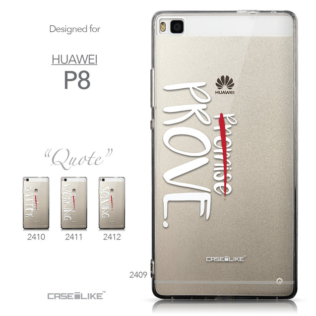 Collection - CASEiLIKE Huawei P8 back cover Quote 2409