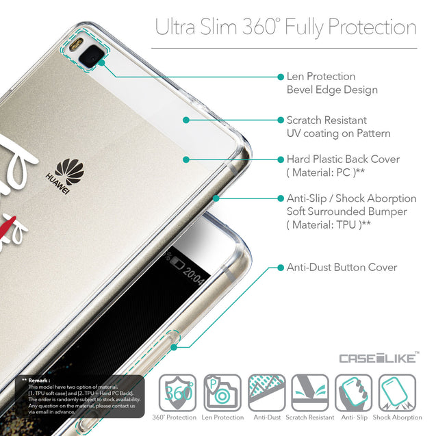 Details in English - CASEiLIKE Huawei P8 back cover Quote 2409