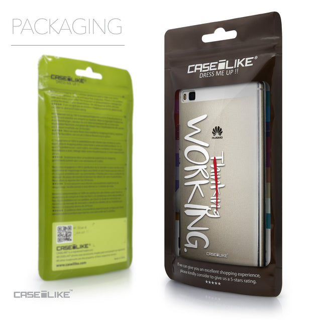 Packaging - CASEiLIKE Huawei P8 back cover Quote 2411