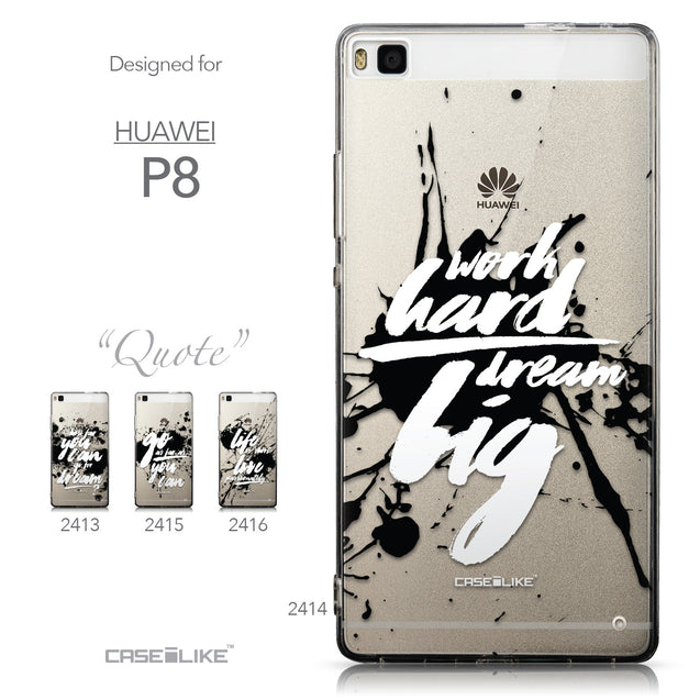 Collection - CASEiLIKE Huawei P8 back cover Quote 2414