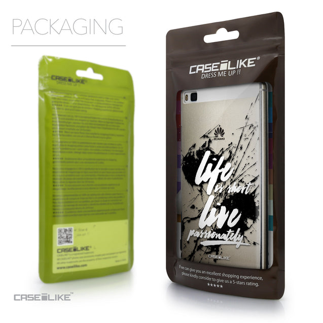 Packaging - CASEiLIKE Huawei P8 back cover Quote 2416