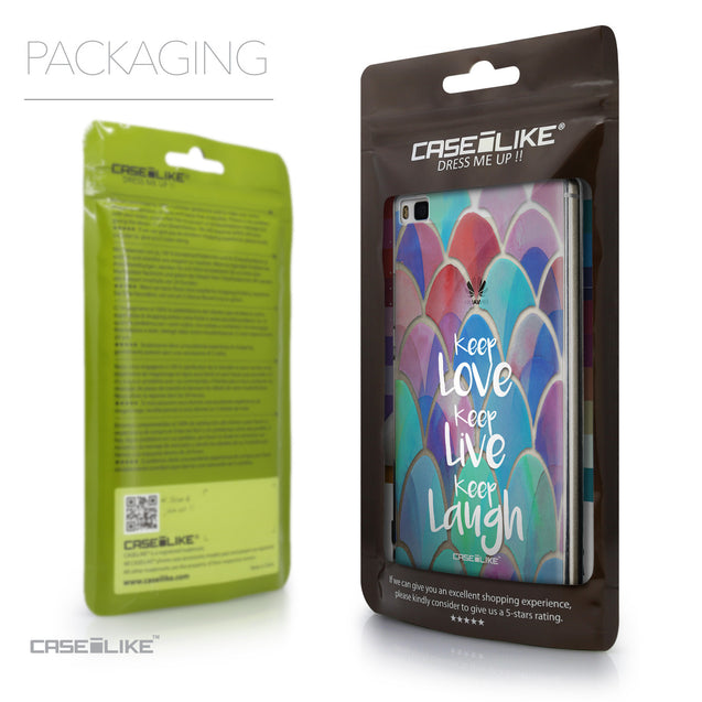 Packaging - CASEiLIKE Huawei P8 back cover Quote 2417