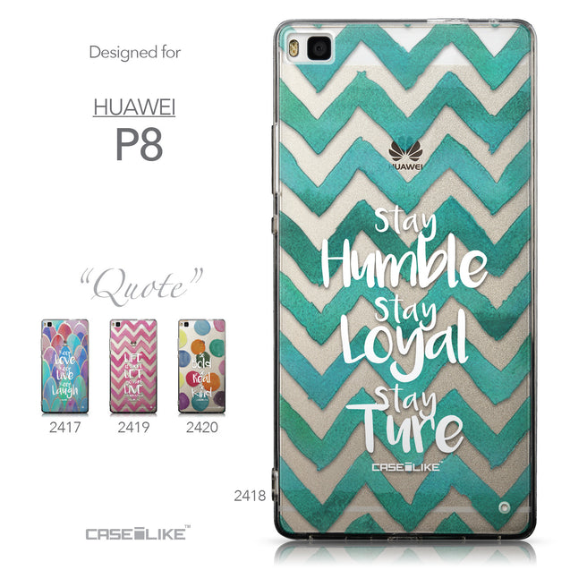 Collection - CASEiLIKE Huawei P8 back cover Quote 2418