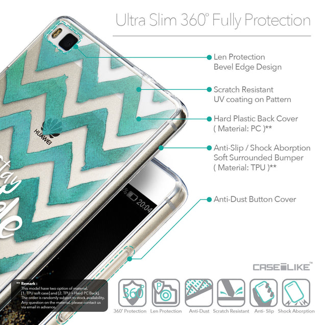 Details in English - CASEiLIKE Huawei P8 back cover Quote 2418