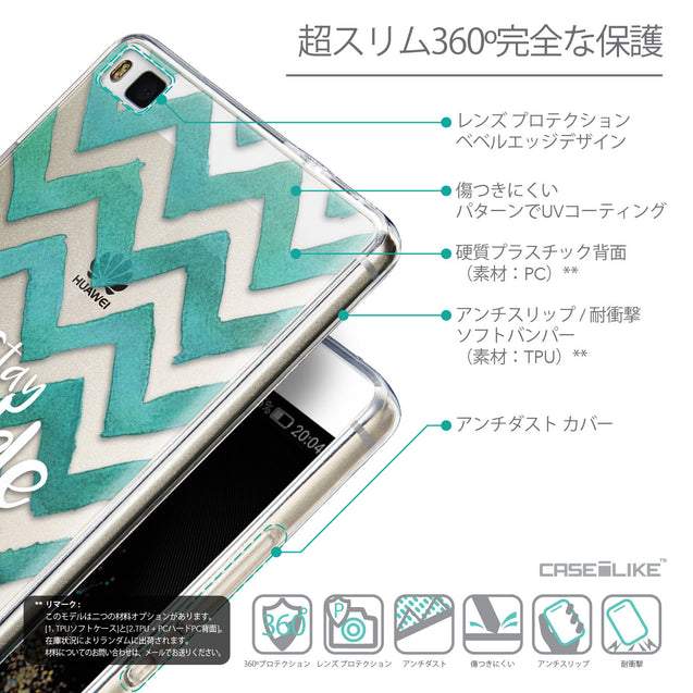 Details in Japanese - CASEiLIKE Huawei P8 back cover Quote 2418