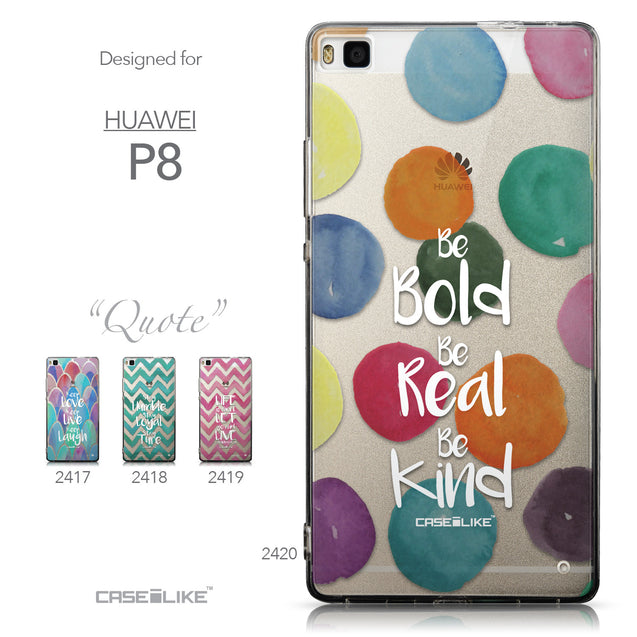 Collection - CASEiLIKE Huawei P8 back cover Quote 2420