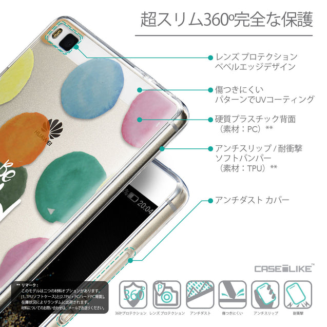 Details in Japanese - CASEiLIKE Huawei P8 back cover Quote 2420