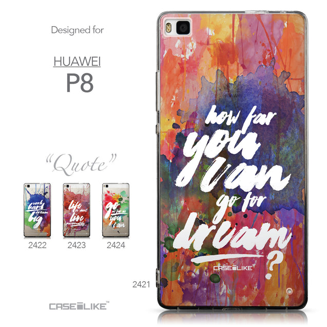 Collection - CASEiLIKE Huawei P8 back cover Quote 2421