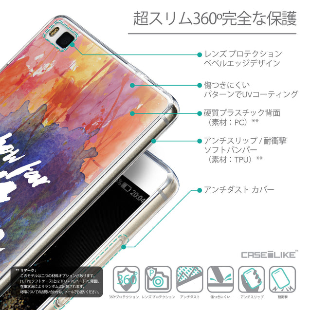 Details in Japanese - CASEiLIKE Huawei P8 back cover Quote 2421