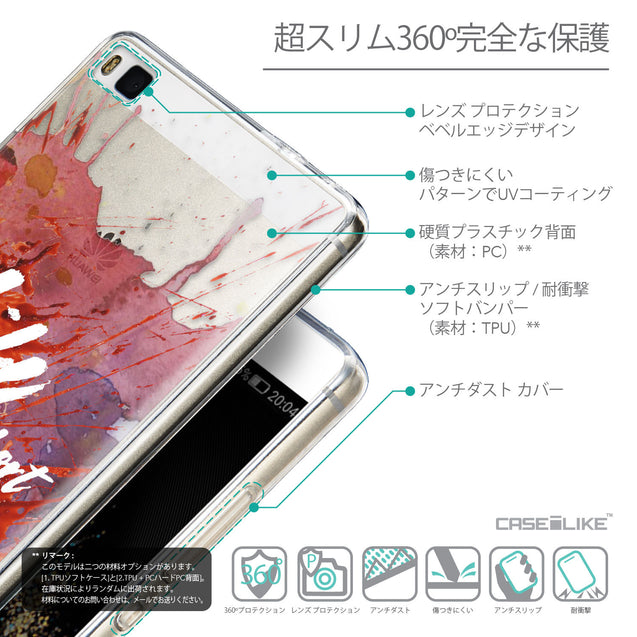 Details in Japanese - CASEiLIKE Huawei P8 back cover Quote 2423