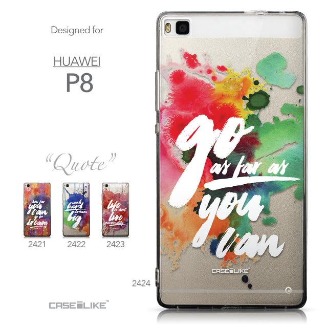 Collection - CASEiLIKE Huawei P8 back cover Quote 2424