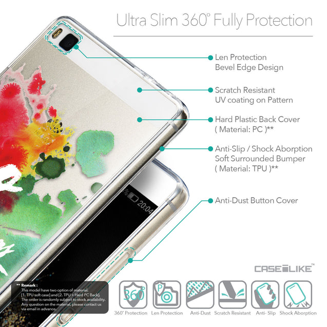 Details in English - CASEiLIKE Huawei P8 back cover Quote 2424