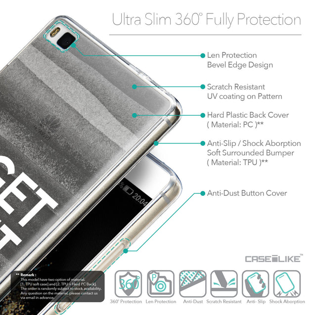 Details in English - CASEiLIKE Huawei P8 back cover Quote 2429