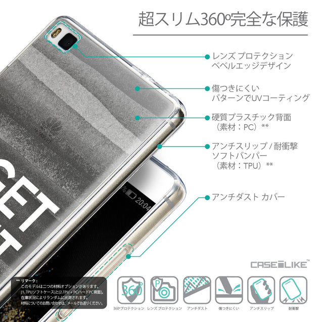 Details in Japanese - CASEiLIKE Huawei P8 back cover Quote 2429