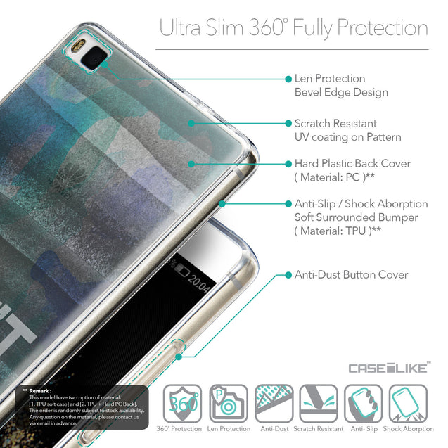 Details in English - CASEiLIKE Huawei P8 back cover Quote 2431