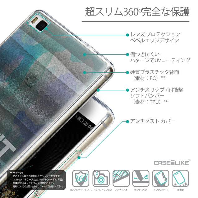 Details in Japanese - CASEiLIKE Huawei P8 back cover Quote 2431
