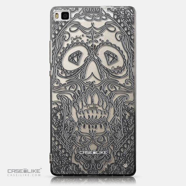 CASEiLIKE Huawei P8 back cover Art of Skull 2524